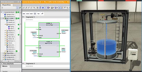 Comunicación del PLC S7-1200 con Factory IO