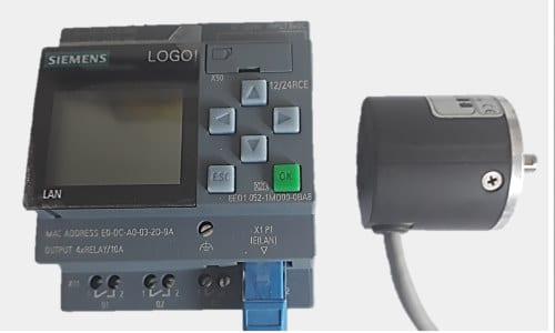 plc logo 8 con encoder
